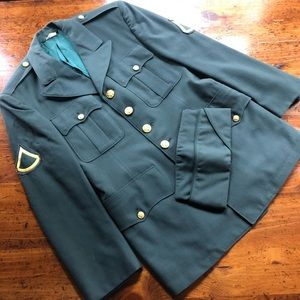 US Army Private First Class WWII Military Jacket